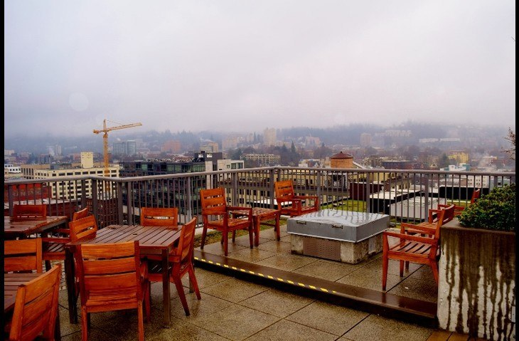 Rooftop Deck and Fire Pit