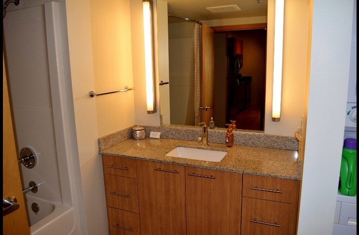 Spacious Bath with Granite Counters